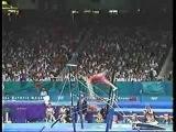 Светлана Хоркина 1996 Олимпиада. Финал на брусьях