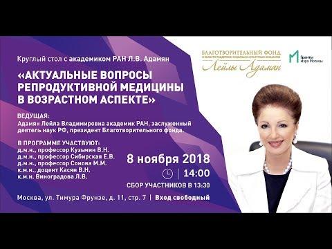 8.11.18 КРУГЛЫЙ СТОЛ С АКАДЕМИКОМ РАН Л.В. АДАМЯН