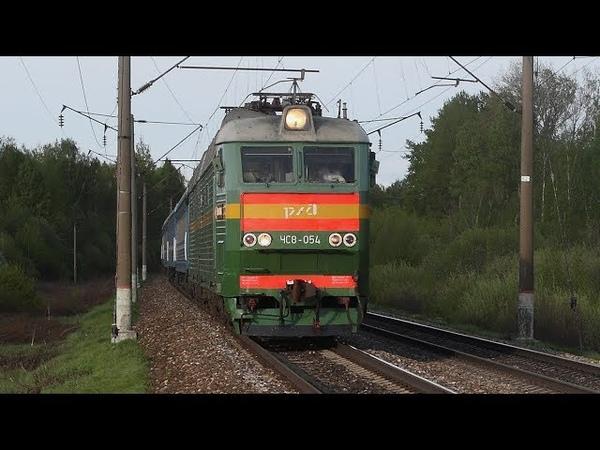 До вечерних сумерек. Разнообразие подвижного состава на пл. 300 км Московской жд и в её окрестностях