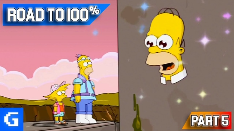The Simpsons Game [Road to 100] [05] - Mr. Sparkle