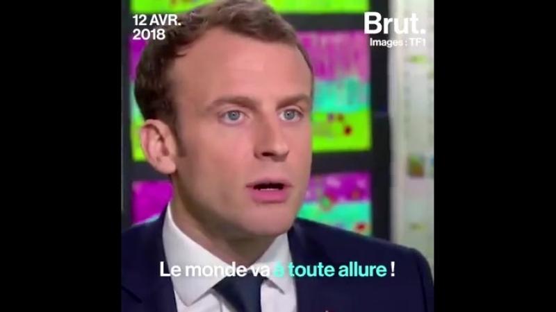 Emmanuel Macron connaît ses classiques. Il l'a montré lors de son interview avec Jean-Pierre Pernaut.