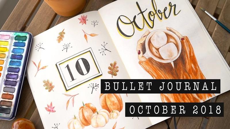OCTOBER 2018 BULLET JOURNAL SETUP | ANN LE
