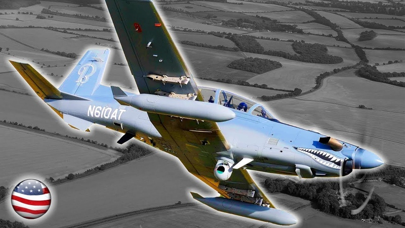 Beechcraft AT-6 Wolverine: The Propeller Fighter Of The 21st Century