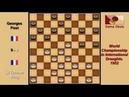 Li Tchoan King FRA Georges Post FRA Draughts World Championship 1952