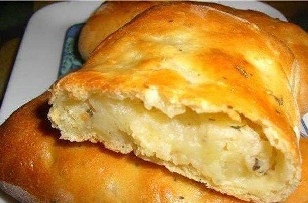 Как сделать пирожки с картошкой в духовке с