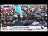 Десятки тысяч демонстрантов у парламента АР Крыма - сюжет телеканала