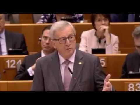 Jean-Claude Juncker voit et entend des extraterrestres depuis le Brexit
