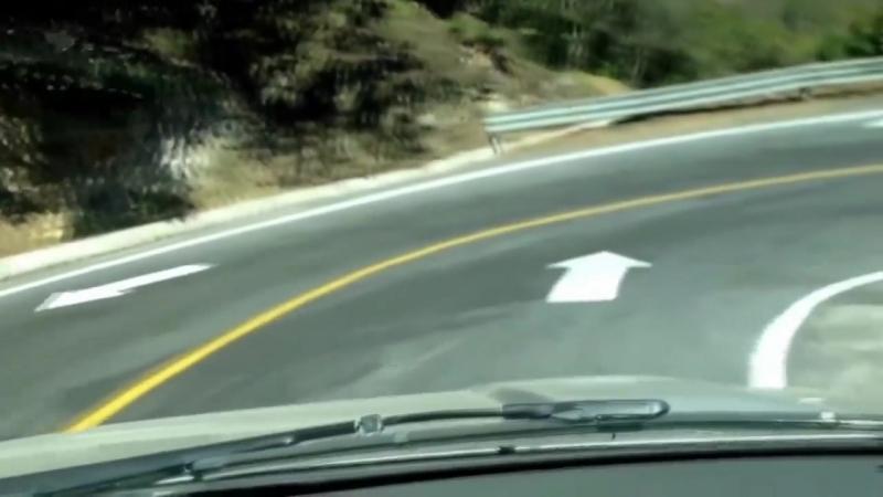 Самая опасная дорога Мексики следуй за стрелами или ты можешь умереть.