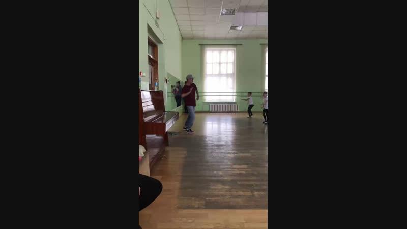 Класс Игоря Анютина в ансамбле Ланце