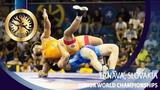 GOLD GR - 77 kg: S. SAJAN (IND) v. I. OPIEV (RUS)