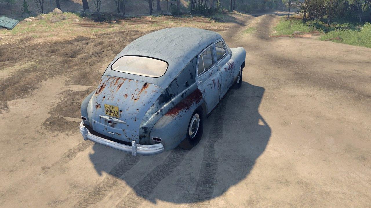 Газ М 72 для Spintires - Скриншот 3