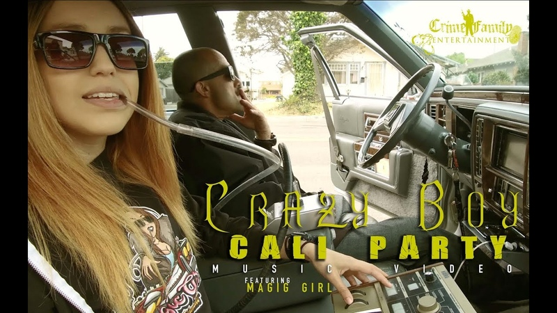Crazy Boy - Cali Party Feat Magic Girl (Official music Video)