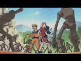 Наруто, Саске и Сакура против кукол