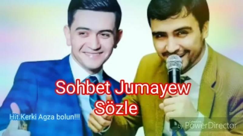 Sohbet Jumayew - Sözle täze klip 2018 ( Turkmen aydym ).mp4