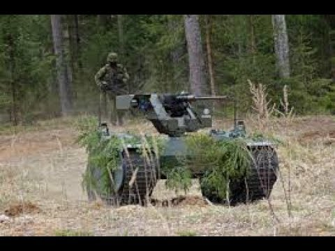 TANK-KILLING ROBOT REVEALED || WARTHOG 2018