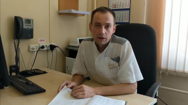 О работе 14 отделения гнойной хирургии ГКБ64 рассказывает старший медбрат Александр Голубев
