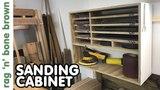 Making A Sander Cabinet