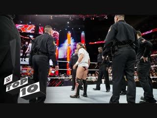 [WWE QTV]☆[Top 10]Sinister Superstar traps]