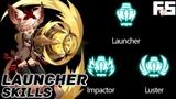 Dragon Nest Lustre &amp Impactor Skill Preview