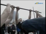 Девушка на турнике и Workout Донецк :: Live Донбасса