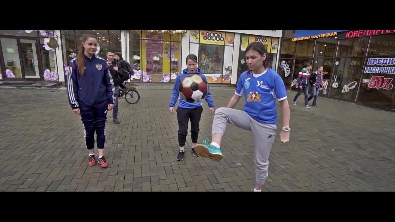 Женская сборная по футболу Свердловской области сыграла с иностранцами