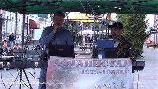 Песня для десантников! РАСПЛЕСКАЛАСЬ СИНЕВА! Brest! Street! Music!