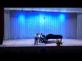Лезгинка (Хачатурян А.), исполняет Арсений Демиданов, ксилофон