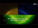 Several UFOs near our Sun - December 16, 2018