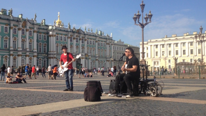 Концерт на Дворцовой площади ) Музыкальный Санкт-Петербург