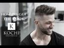 SERGIO RAMOS inspired hairstyle. Short Spiky Men's Haircut .High skinfade