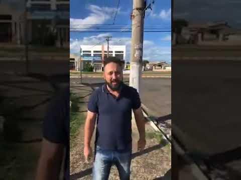 Vice prefeito da cidade de Sumaré SP destrói radar móvel