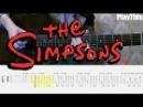 [Симпсоны на гитаре] Как играть тему из The Simpsons ТАБЫ | Уроки гитары от PlayThis 11
