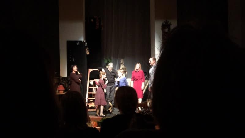 Капли датского короля фрагмент спектакля театра Камбуровой театр Вахтангова 18 12 18