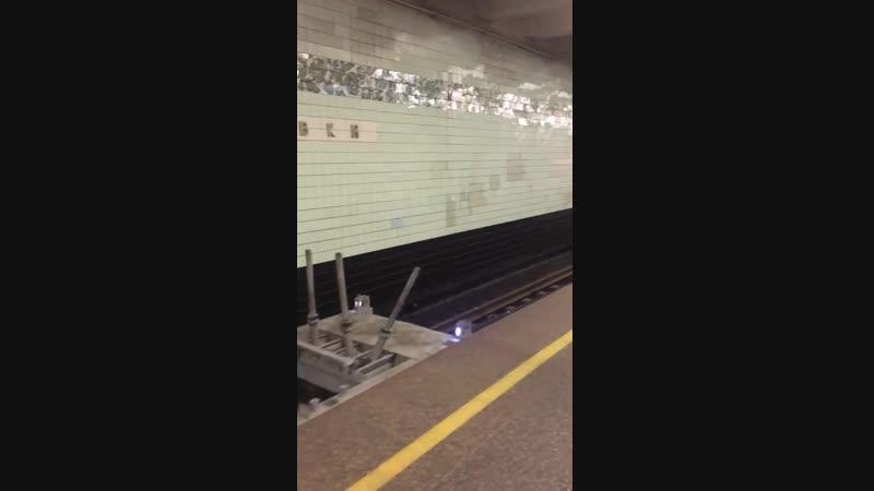 Однажды в киевском метро ночью (служебный состав)_⁄Once in the Kiev subway at ni