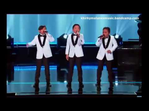 TNT Boys Sing Beyonce's Listen Little Big Shots US with Steve Harvey