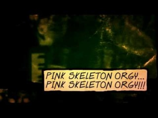 shemale ZERO - Pink Skeleton Orgy (Music Video) Synthpunk Horror Voodoo Surf