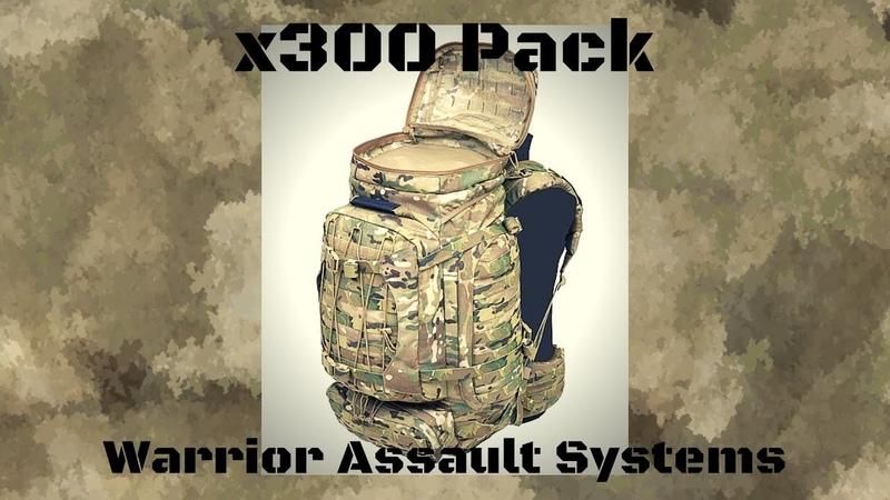 Содержание рейдового рюкзака. X300 PACK WARRIOR ASSAULT SYSTEMS. Мой короткий обзор.