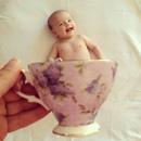 В декрете так бывает…нальёшь себе утречком чашечку горячего чая…