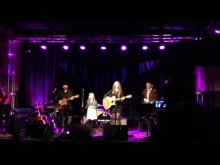 Lennon and Maisy performing Ho Hey by The Lumineers with Buddy Miller - 4/2/13