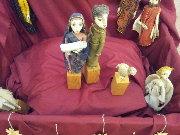 Куклы на библейскую тему