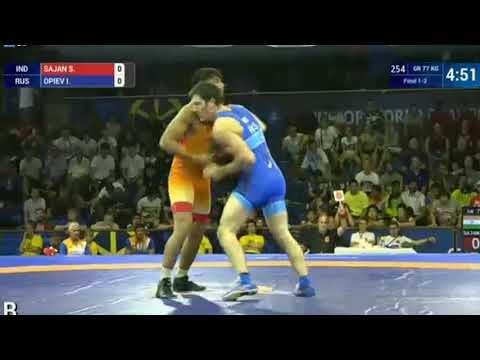 World Championships: Islam OPIEV (RUS) - Sajan SAJAN (IND)
