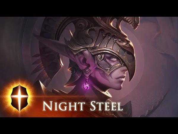 Night Steel SpeedPainting by TAMPLIER 2018