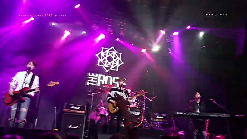 THE ROSE (더로즈) - Beautiful Girl ¦ 181116 @PAINT IT ROSE 2018 IN EUROPE 2ND COLORING (fancam)