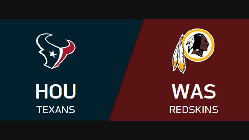 NFL 2018-2019 / Week 11 / CG / Houston Texans - Washington Redskins / EN