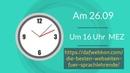 Tag der Sprachen _Webinar