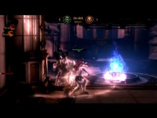 God OF War Восхаждение Multiplayer NOOB vs PRO players