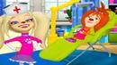 Барбоскины Доктор Стоматолог 6Новый Детский Врач Роза Барбоскина Ждет на Осмотр Мульт Игра