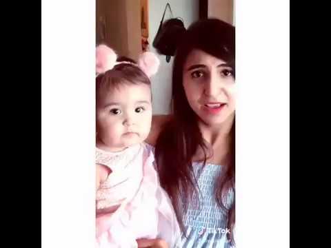 Nikki kaur | tiktok | comedy | mybabygir | musically | whatsapp status video | Jutt King star | 2018