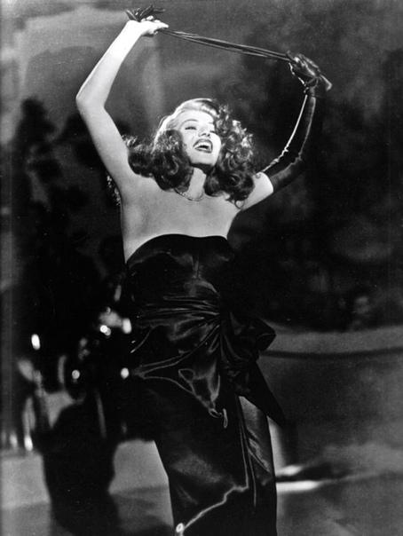 Снимок из кинофильма «Гильда», с Ритой Хейворт в главной роли.
