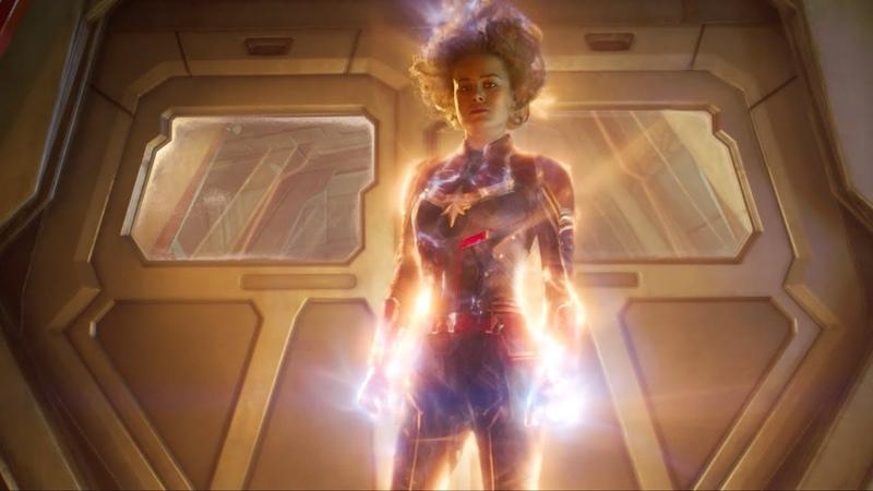 Капитан Марвел – официальный трейлер